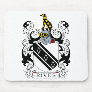 Rives Coat of Arms Mouse Pad