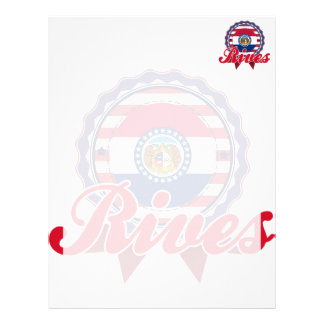 Rives, MO Customized Letterhead