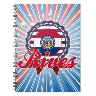 Rives, MO Spiral Note Books