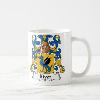 Rivet Family Crest Coffee Mug