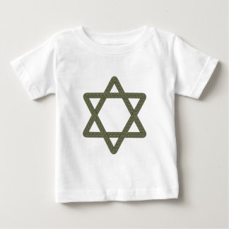Rivet Star of David for Jewish Celebrations Baby T-Shirt