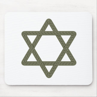 Rivet Star of David for Jewish Celebrations Mouse Pad