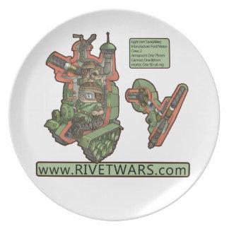 Rivet Wars Plate