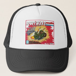 Rivet Wars Rocket Motorcycle Hat