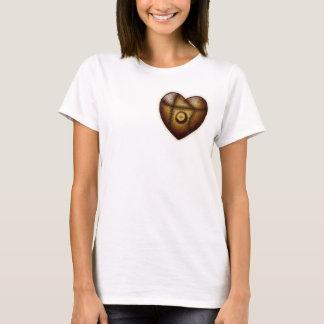 Riveted Heart, light shirt