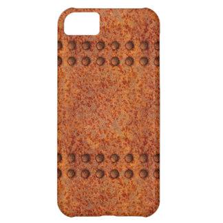 Riveted Rusty Metal iPhone 5C Case