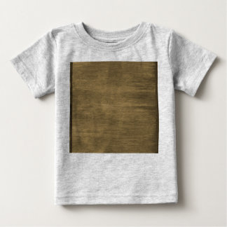 rivetted grungy gold metal plate baby T-Shirt