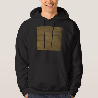 rivetted grungy gold metal plate hoodie