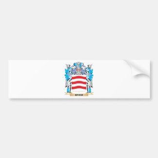 Rivier Coat of Arms - Family Crest Car Bumper Sticker