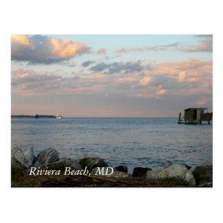 Riviera Beach, MD - POST CARD