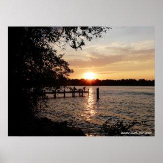 Riviera Beach, MD Sunset - PRINT