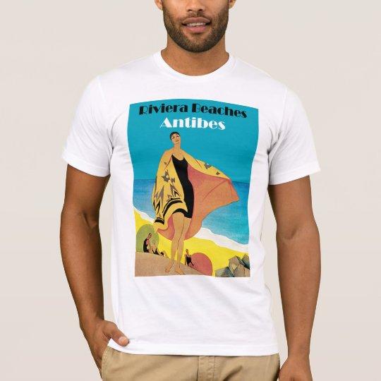 Riviera Beaches ~ Antibes T-Shirt