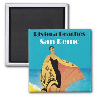 Riviera Beaches ~ San Remo Magnet