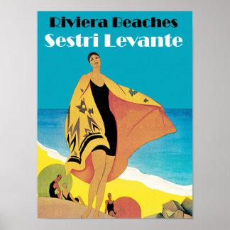 Riviera Beaches ~ Sestri Levante Print