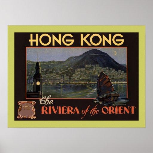 ~ Riviera de Hong Kong del Oriente Poster