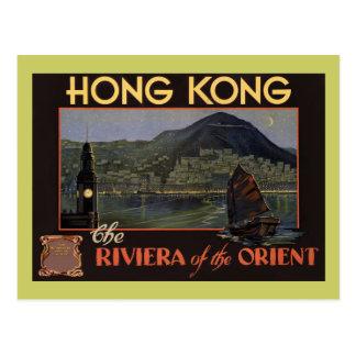 ~ Riviera de Hong Kong del Oriente Postales