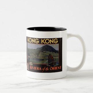 ~ Riviera de Hong Kong del Oriente Taza