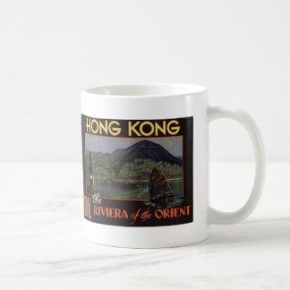 ~ Riviera de Hong Kong del Oriente Taza Clásica
