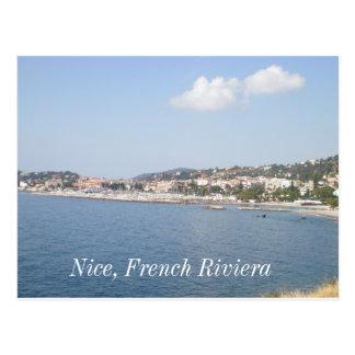 Riviera francesa, Niza, francesa riviera Tarjetas Postales