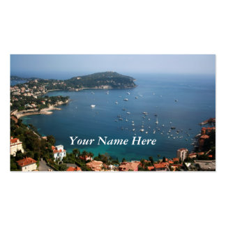 Riviera francesa tarjetas personales
