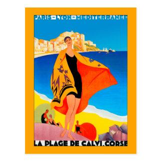 """Riviera francesa "" Postal"