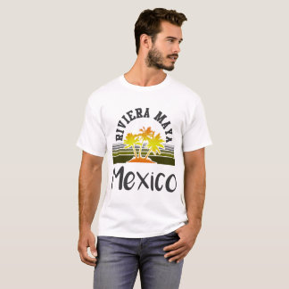 RIVIERA MAYA BEACH MEXICO T-Shirt