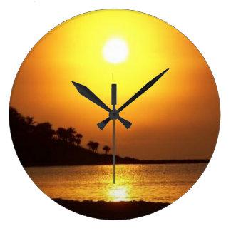Riviera Maya Cancun Mexico Caribbean Sea at Dawn Wallclock