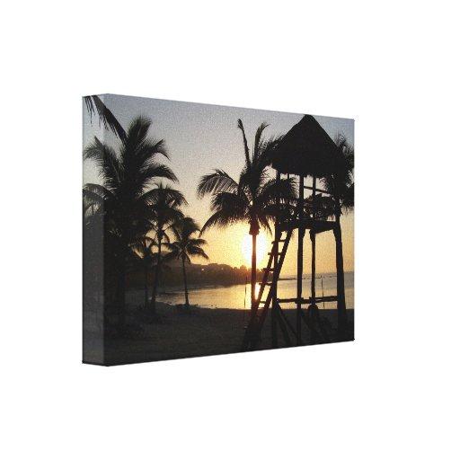 Riviera Maya Cancun Mexico Caribbean Sea Canvas Canvas Print