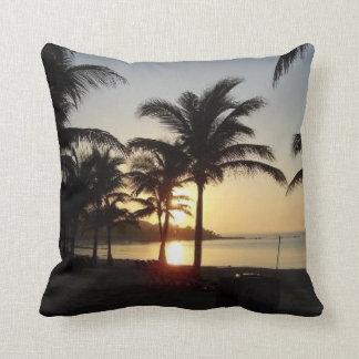 Riviera Maya Cancun Mexico Caribbean Sea Throw Pillow