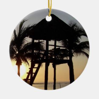 Riviera Maya Cancun Mexico Gel Mousepad Ornaments