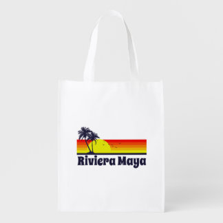 Riviera Maya Grocery Bag