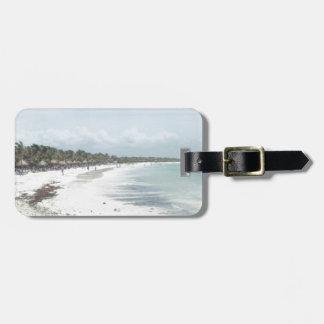 Riviera Maya Luggage Tag