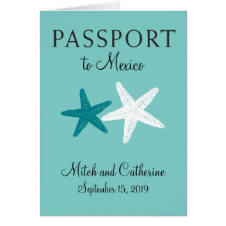 Riviera Maya Mexico | Passport Stationery Note Card