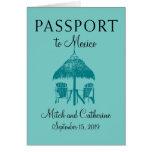 Riviera Maya Mexico | Passport Greeting Card