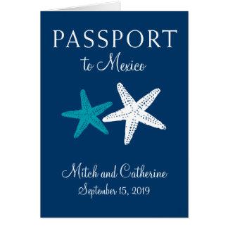 Riviera Maya Mexico with Starfish | Passport Card