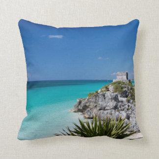 Riviera Maya Throw Pillow