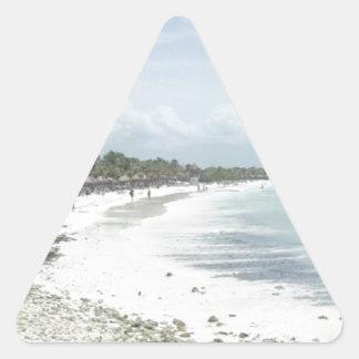 Riviera Maya Triangle Sticker