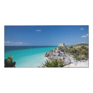 Riviera Maya Wood Wall Art