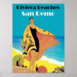 Riviera vara el ~ San Remo Posters