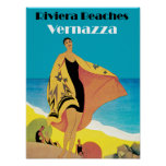 Riviera vara el ~ Vernazza Poster