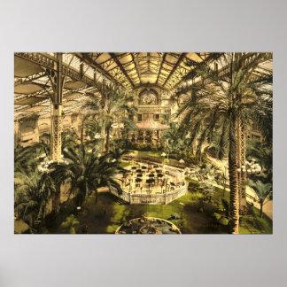 Riviera Winter Garden in Nice Poster