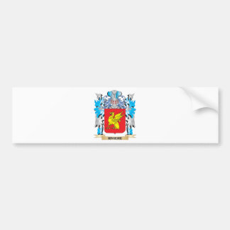 Riviere Coat of Arms - Family Crest Car Bumper Sticker