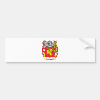Riviere Coat of Arms (Family Crest) Car Bumper Sticker