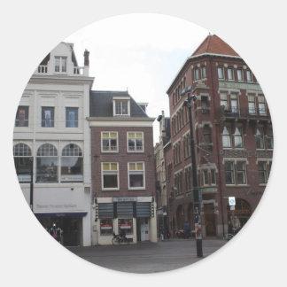 Riviervismarkt Classic Round Sticker