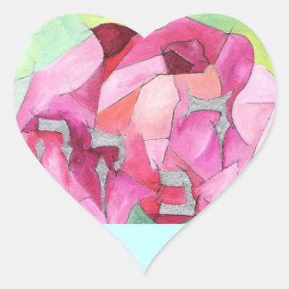 Rivkah Heart Sticker