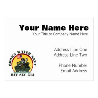RivSec512 Large Business Cards (Pack Of 100)
