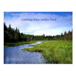 Rivulet off Jordan Pond Postcard