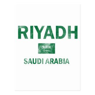 Riyadh Saudi Arabia Designs Postcard