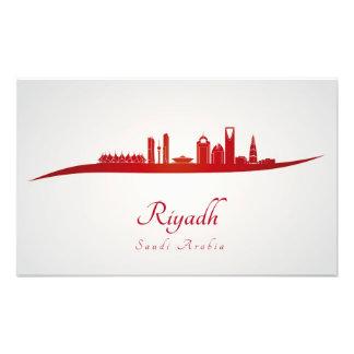 Riyadh skyline in network photograph
