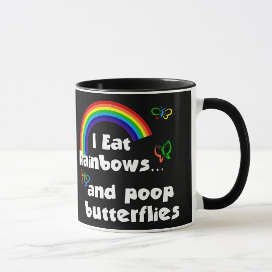 Riyah-Li Design I Eat Rainbows Mug